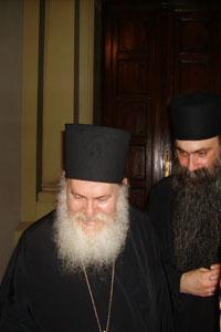 Parintele Arhimandrit Efrem, staretul Manastirii Vatoped din Muntele Athos