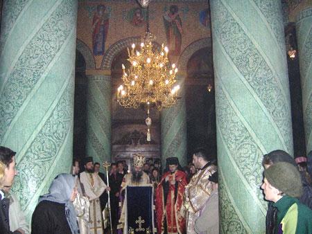 Seminarul Teologic Liceal Ortodox din Bucuresti isi sarbatoreste hramul