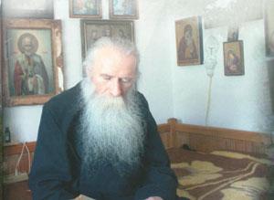 Parintele Ieronim Stelian, duhovnicul manastirii
