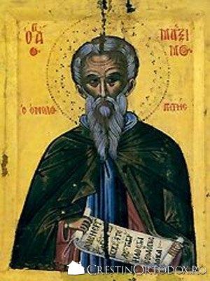 Sf Maxim Marturisitorul
