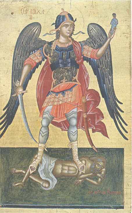 O icoana inedita a Arhanghelului Mihail