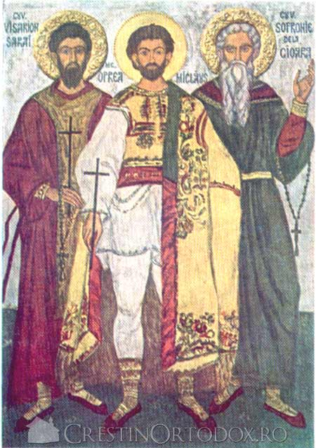 Sfintii Marturisitori Visarion, Oprea si Sofronie
