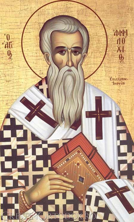 Sfantul Amfilohie, Episcopul Iconiei