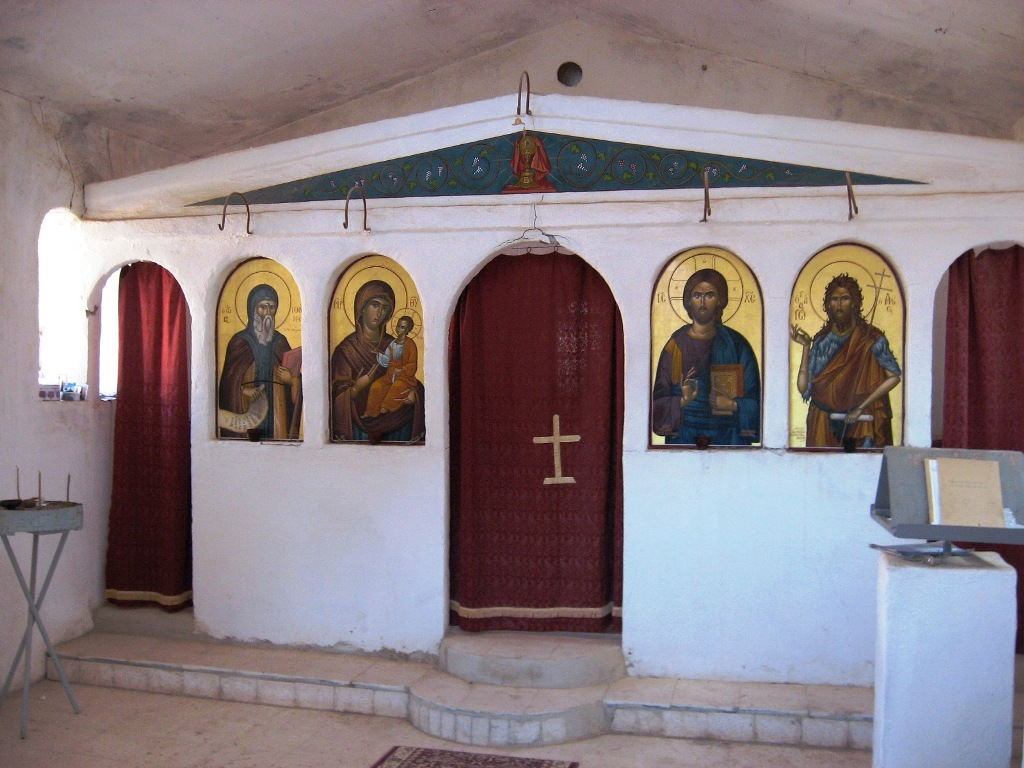 the cave of St John Climacus