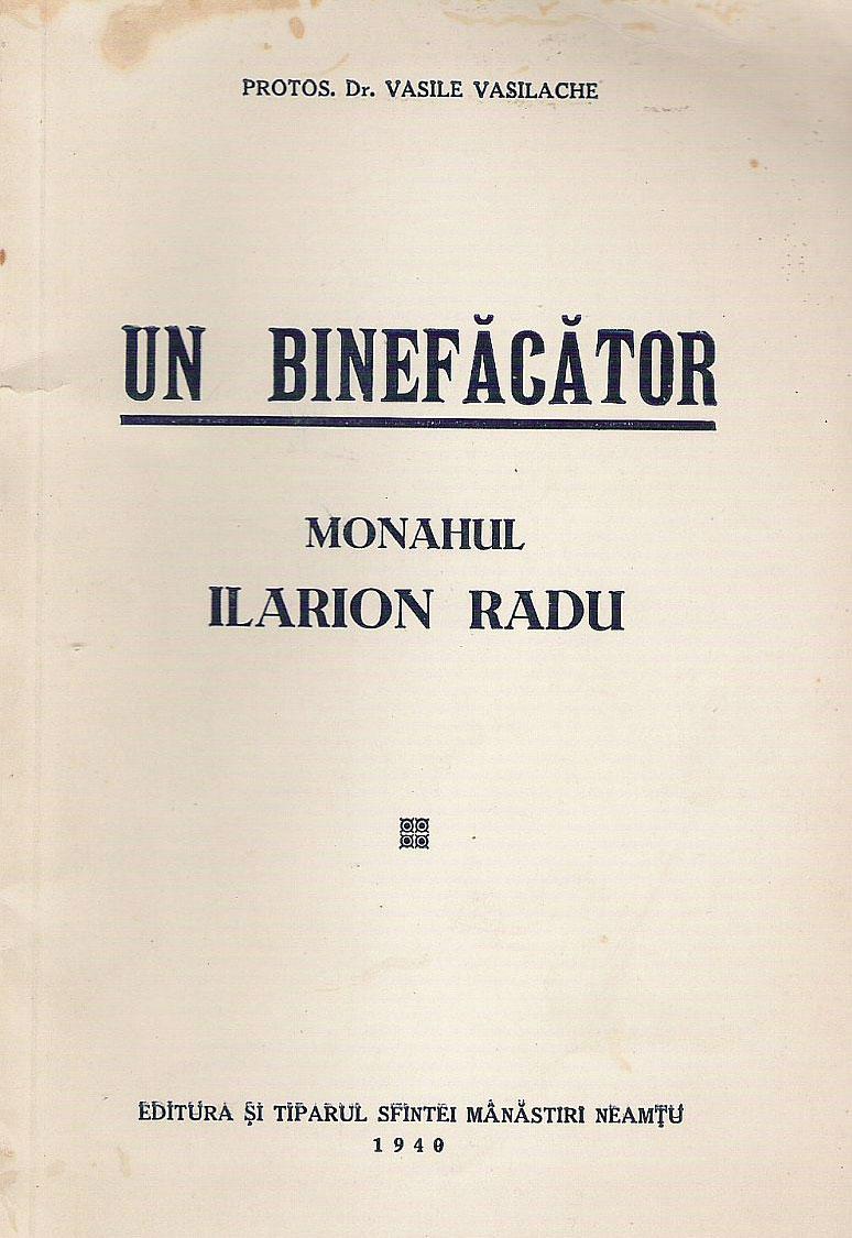 Parintele Ilarion Radu