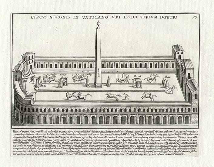 Circul lui Nero, locul martiriului Sfantului Petru