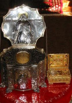Moastele Sfantului Iosif Isihastul