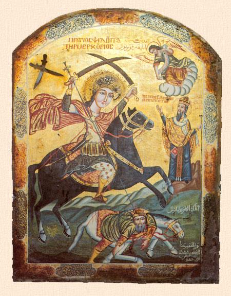 Mercurie, sfantul cu doua sabii