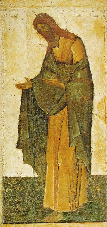 Sfantul Ioan Botezatorul - Teofan Grecul