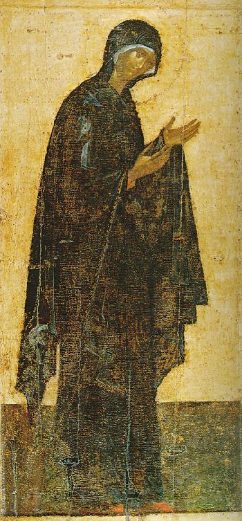 Maica Domnului - Teofan Grecul