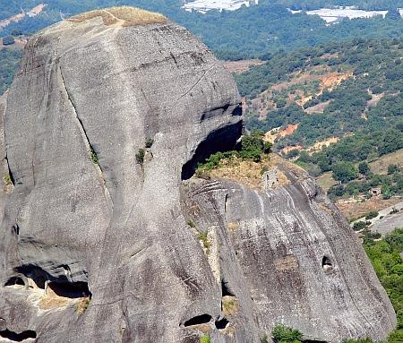 Meteora - Manastirea Sfantul Gheorghe Mandilas