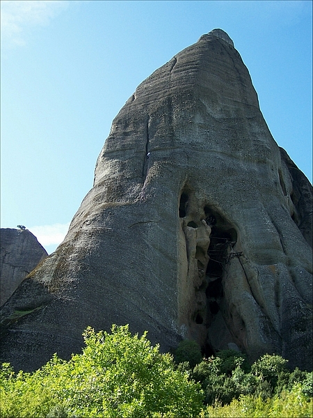 Meteora - Manastirile Parasite sau Nelocuite