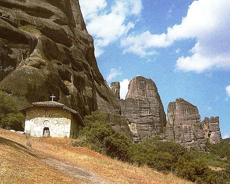 Meteora - Manastirea Doupliani
