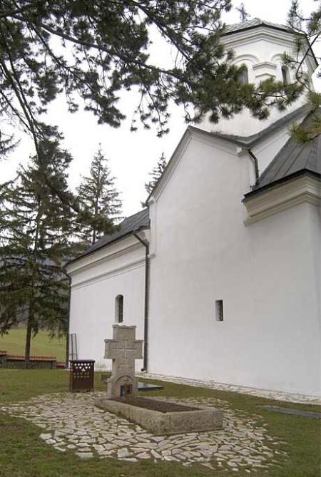 Mormantul Sfantului Iustin Popovici - Manastirea Celije