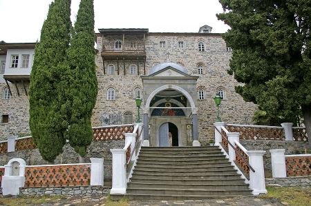 Manastirea Sfantul Pantelimon din Sfantul Munte Athos - Russikon