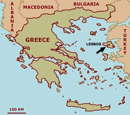 Insula Lesbos - Lesvos