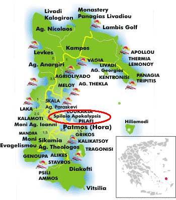 Pestera Apocalipsei - insula Patmos