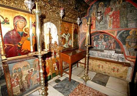 Capela Sfantului Hristodul - Manastirea Sfantul Ioan Teologul - insula Patmos