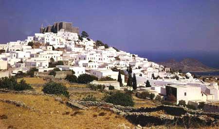 Manastirea Sfantul Ioan Teologul - insula Patmos
