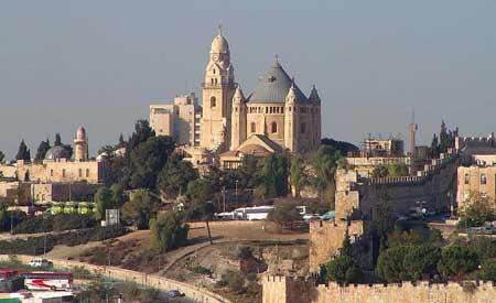 Abatia de pe Muntele Sion - Adormirea Maicii Domnului