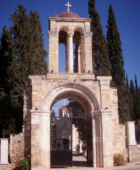Mormantul Sfantului Luca - Teba