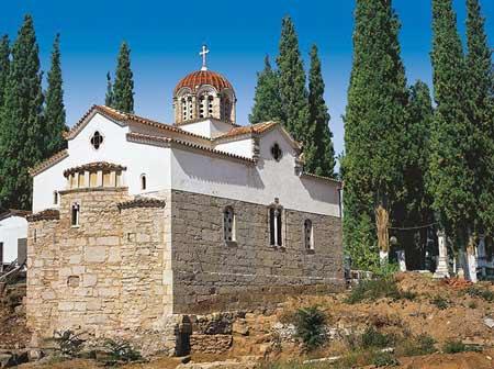 Mormantul Sfantului Apostol Luca - Teba