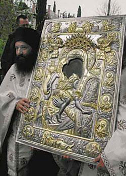 Maica Domnului Axion Estin - Biserica Protaton