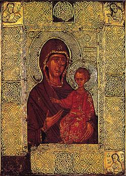 Maica Domnului Elaiovrytissa - Manastirea Vatoped