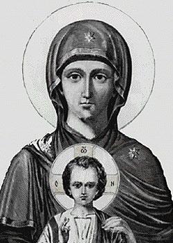 Maica Domnului Epakouousa - Manastirea Zografu
