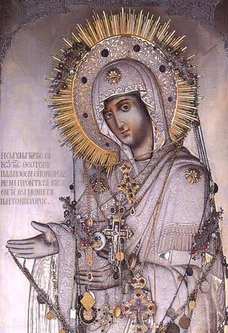 Maica Domnului Gherontissa - Manastirea Pantocrator