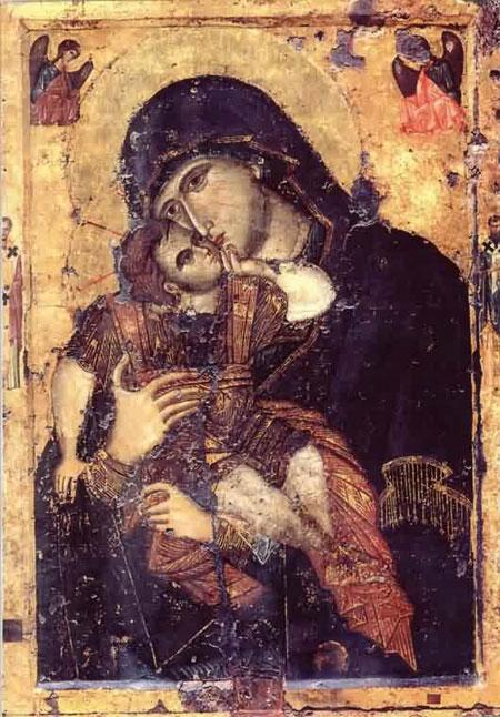 Maica Domnului Glykophilousa - Manastirea Filoteu