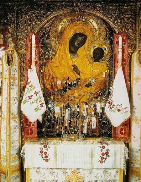 Maica Domnului Gorgoepikoos - Manastirea Dochiariu