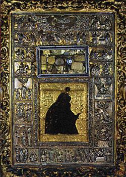 Maica Domnului Myrrhovlythissa - Manastirea Dionisiu