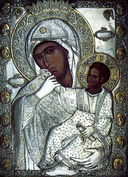 Maica Domnului Paramythia - Manastirea Vatoped