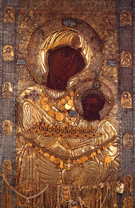 Icoana Maicii Domnului Portarita - Manastirea Iviron