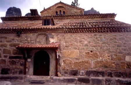 Biserica Adormirea Maicii Domnului - Kalambaka