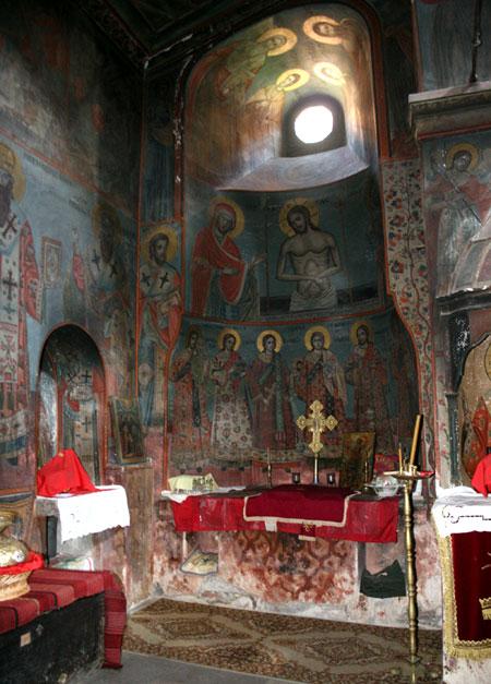 Manastirea Leimonos - proscomidiarul