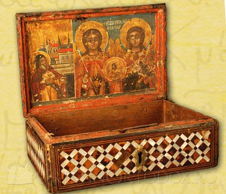 Manastirea Leimonos - sfanta racla