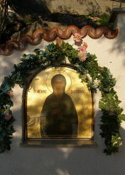 Manastirea Sfantul Patapie -  Loutraki, Grecia