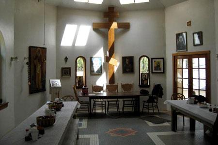 Manastirea Sfantul Herman din Platina - trapeza