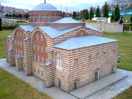 Biserica Sfanta Irina - Constantinopol (macheta)
