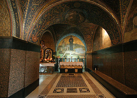 Biserica Sfantului Mormant - Capela Rastignirii