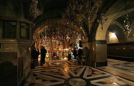 Biserica Sfantului Mormant - Golgota, locul Rastignirii