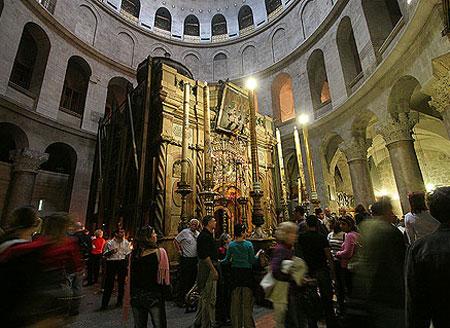 Biserica Sfantului Mormant - Mormantul Mantuitorului