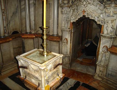 Biserica Sfantului Mormant - Mormantul Domnului, Camera Ingerului