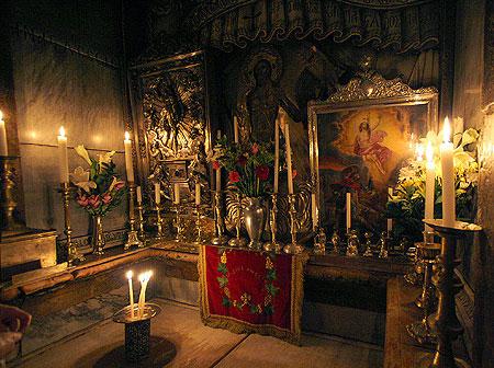 Biserica Sfantului Mormant - Mormantul Domnului