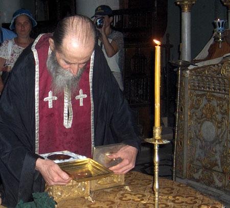 Manastirea Sfanta Ecaterina - Moastele Sfintei Ecaterina