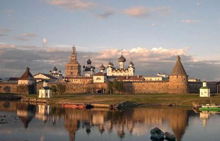 Manastirea Solovetsky - Solovki