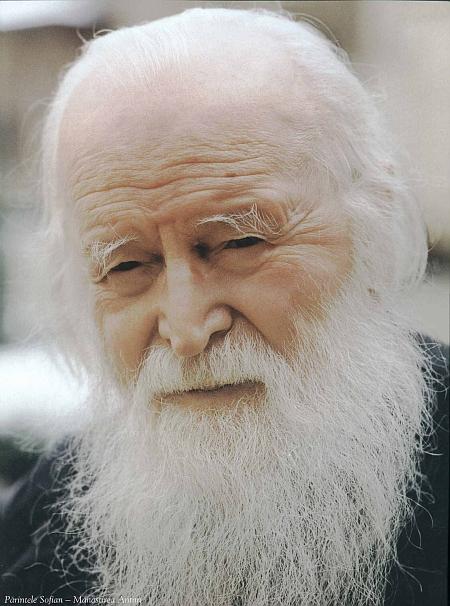 Parintele Sofian Boghiu de la Manastirea Antim