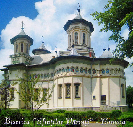 Parintele Ilarion Argatu din Boroaia